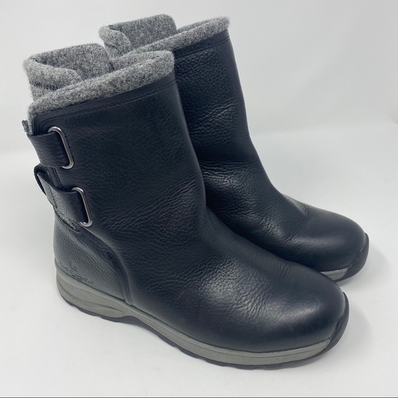 Woolrich Shoes - Woolrich Leather & Wool Booties Size 8